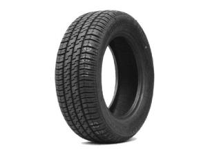 El neumático tiene un dibujo característico, que corresponde a la figura trazada sobre la cara que está en contacto con el suelo al girar.